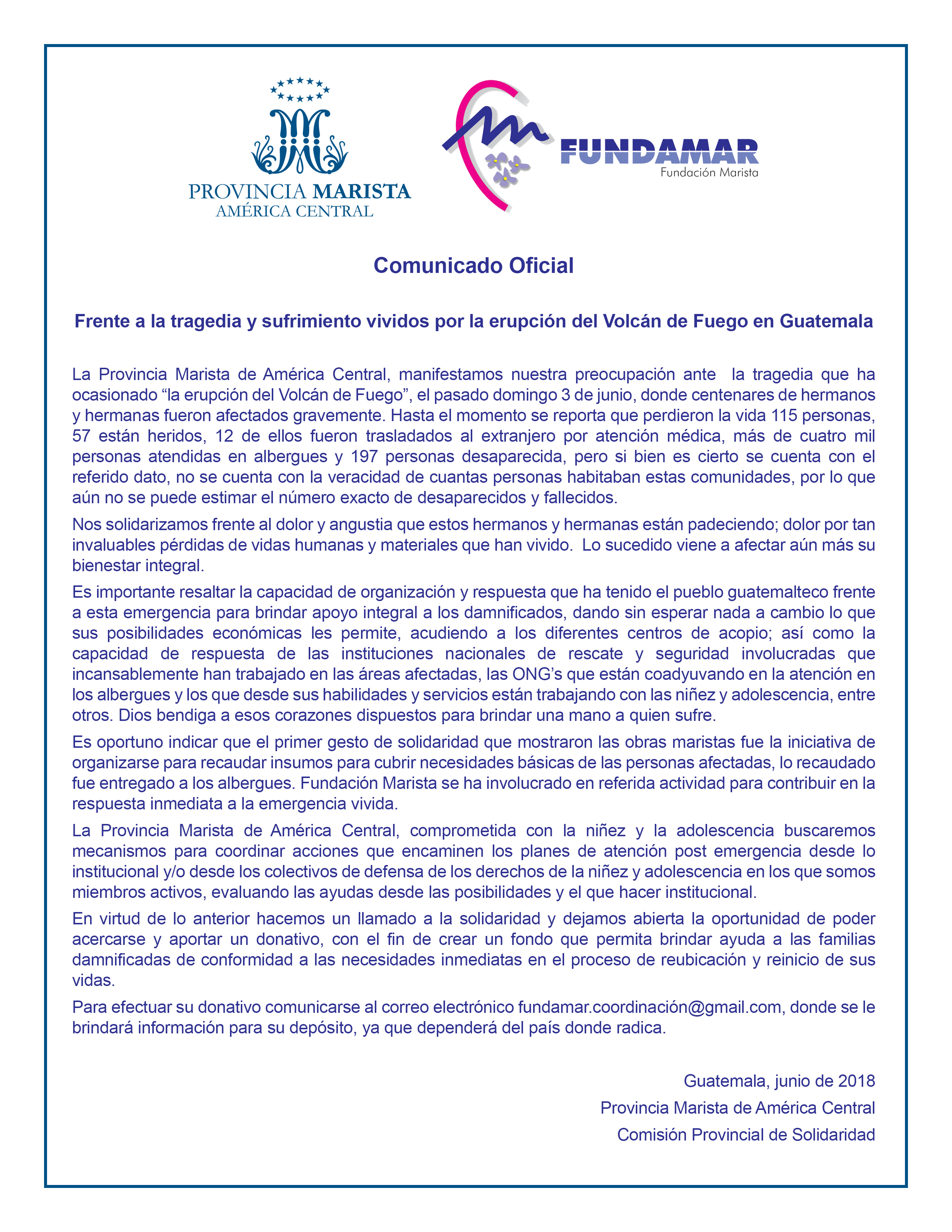 Comunicado Fundamar